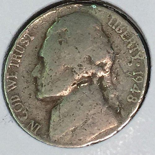 1948-S Jefferson Nickel (10457)