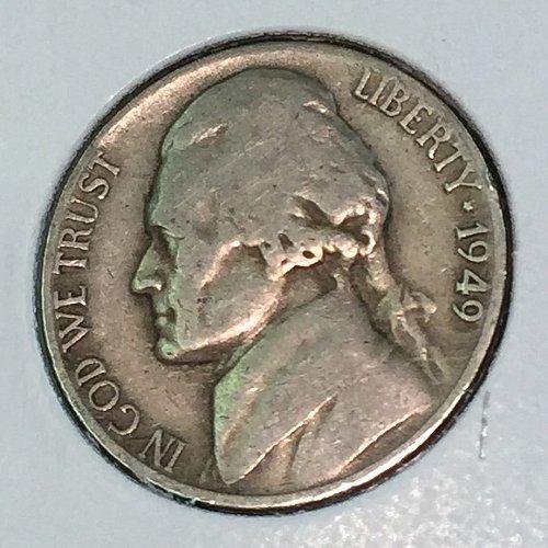 1949-D Jefferson Nickel (41382)