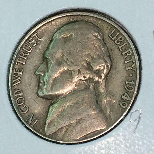 1949-D Jefferson Nickel (41386)