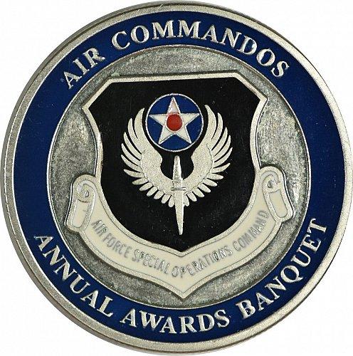 Challenge Coin, Air Commandos, Hurlburt Air Field,  (Item 404)