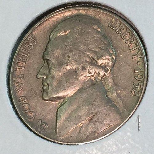 1952-P Jefferson Nickel (41389)