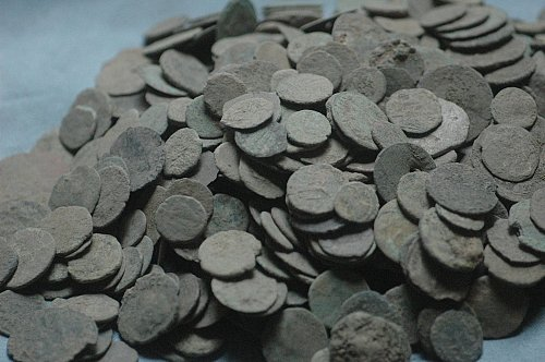10 UNCLEANED ANCIENT COINS FOR $25.00