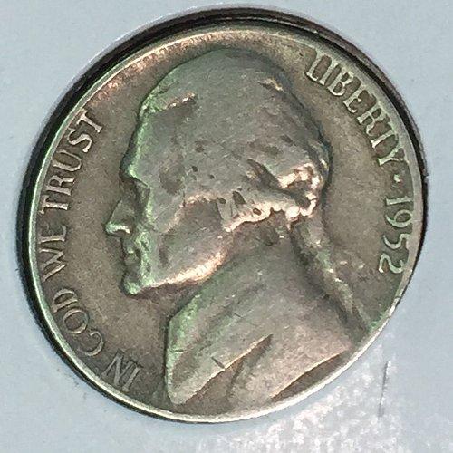 1952-P Jefferson Nickel (10459)