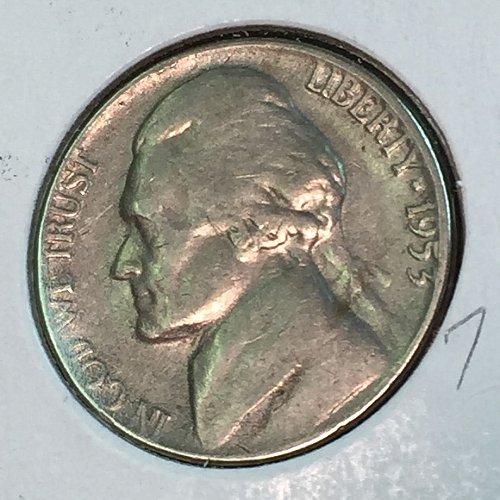 1953-P Jefferson Nickel (10463)