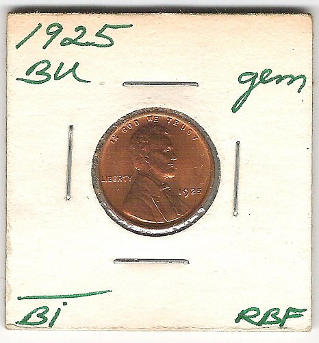 "1925 Choice BU ""Red"""