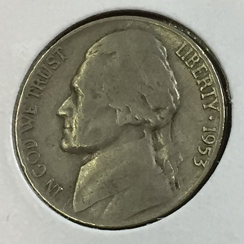 1953-D Jefferson Nickel (41400)