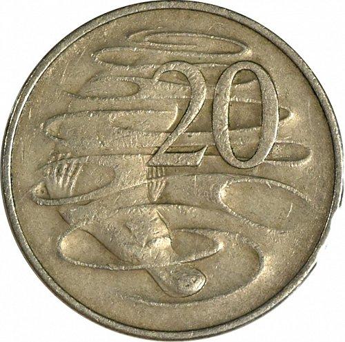 Australia, 1966, 20 Cents ,  (Item 423)