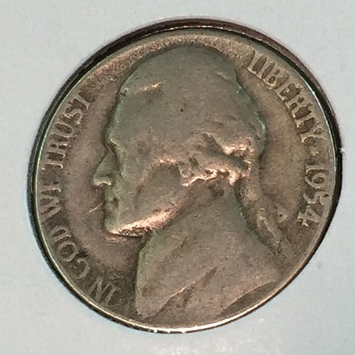 1954-P Jefferson Nickel (41403)
