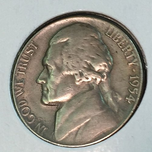 1954-P Jefferson Nickel (41404)