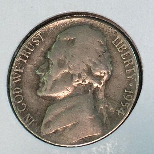 1954-P Jefferson Nickel (10467)