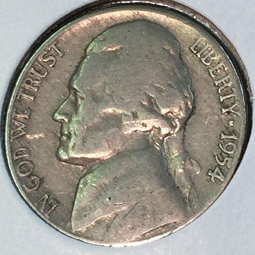 1954-D Jefferson Nickel (10468)
