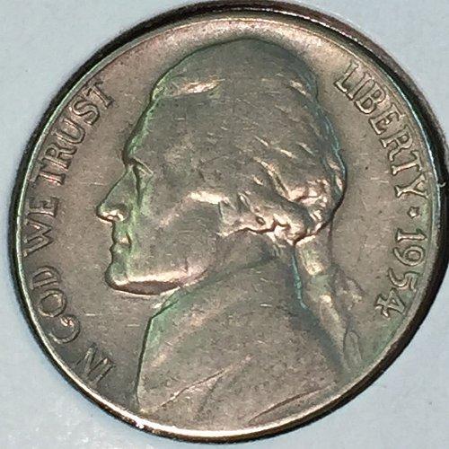 1954-D Jefferson Nickel (10470)