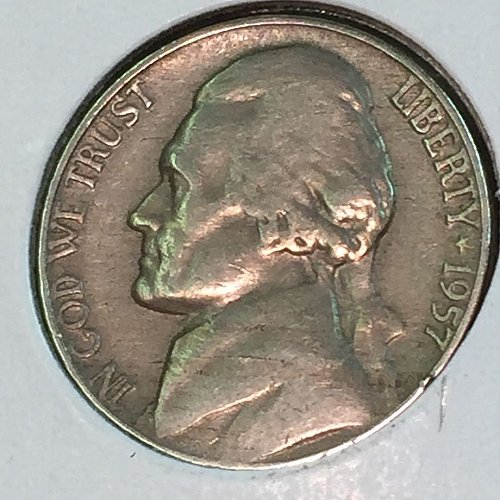 1957-P Jefferson Nickel (41411)