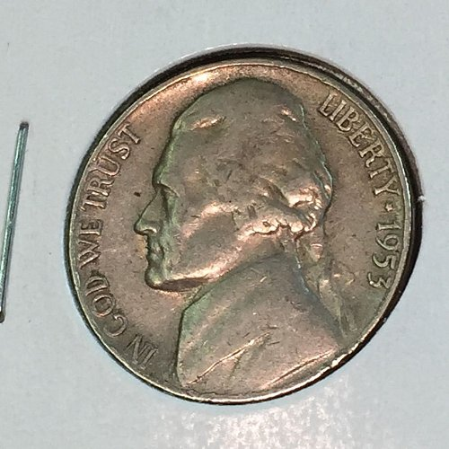 1957-P Jefferson Nickel (41412)