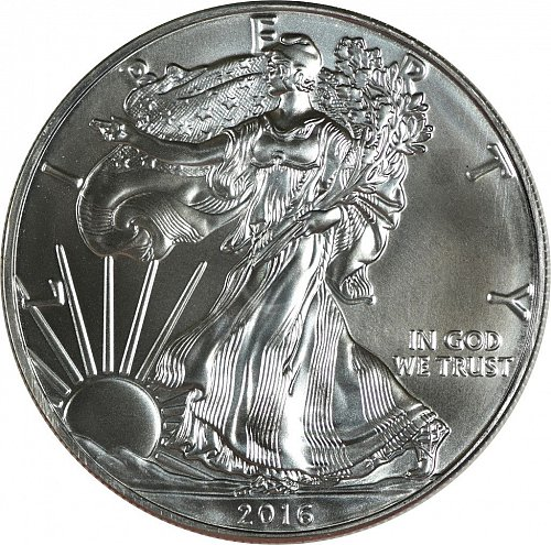 2016 Silver American Eagle, (Item 426)