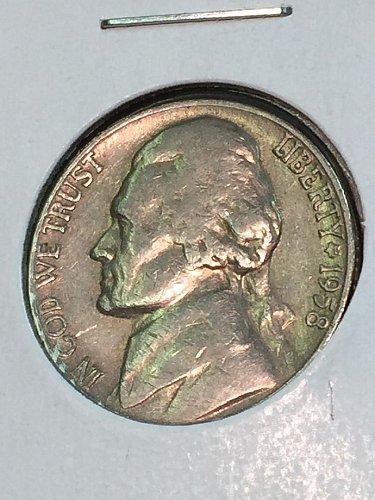 1958-D Jefferson Nickel (41419)