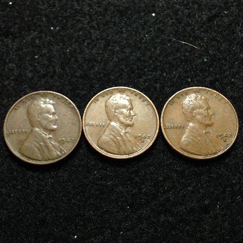 1942 P-D-S mints