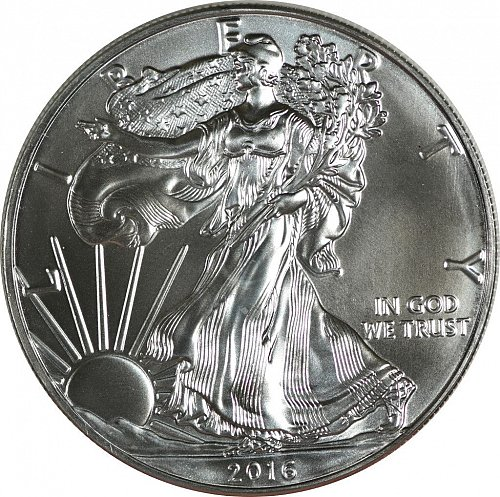 2016 Silver American Eagle,  (Item 430)