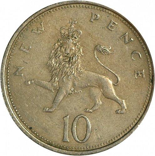 Great Britain, 10 New Pence, (Item 419)