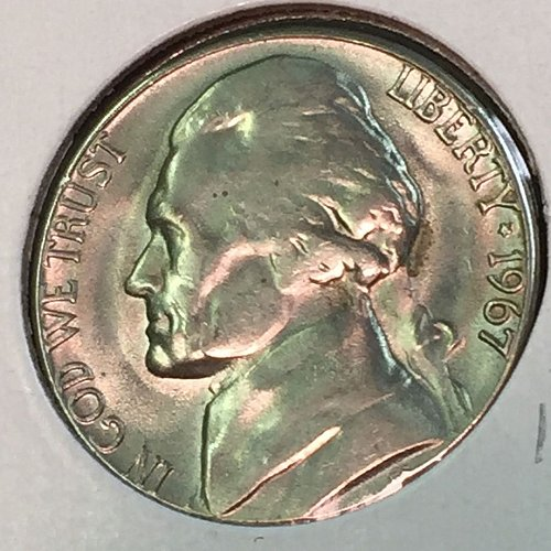 1967-P Jefferson Nickel (41431)