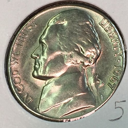 1967-P Jefferson Nickel (41436)
