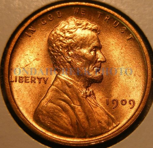 1909 VDB Lincoln Cent Doubled Die Wexler WDDR-010 plus Spiked Head Die Crack