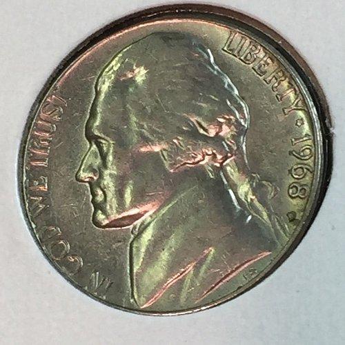 1968-D Jefferson Nickel (41437)