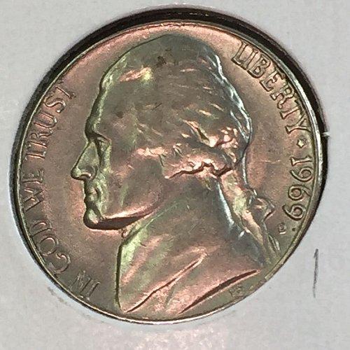 1969-D Jefferson Nickel (41448)