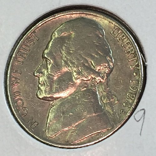 1984-D Jefferson Nickel (41460)