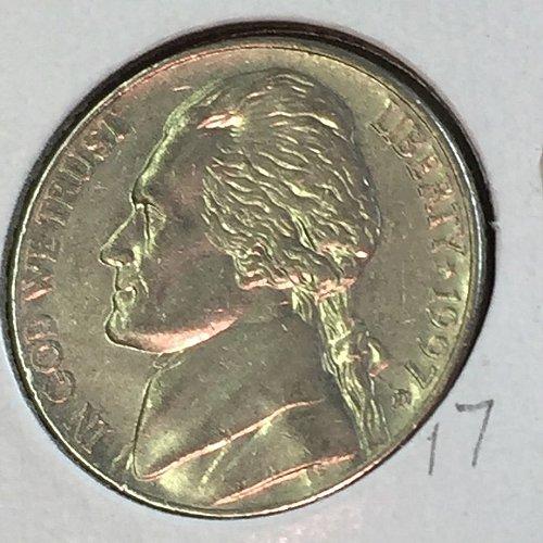 1997-D Jefferson Nickel (41464)