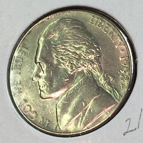 1998-D Jefferson Nickel (41466)
