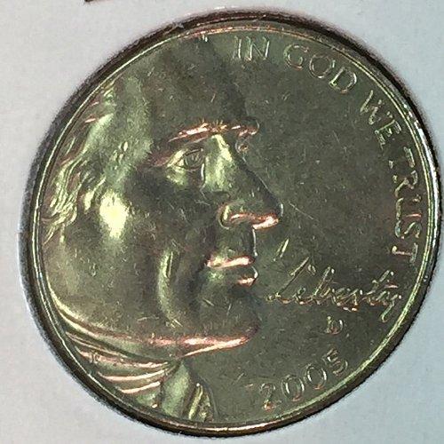 2005-D Jefferson Nickel - Ocean in View (10471)