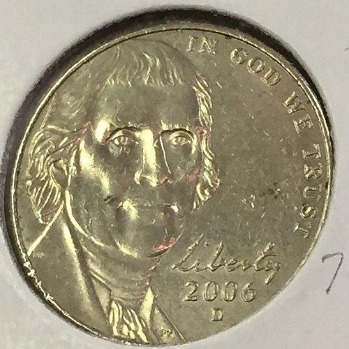 2006-D Jefferson Nickel (10472)