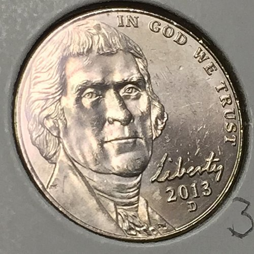 2013-D Jefferson Nickel  (10295)