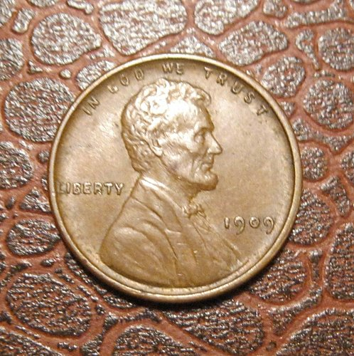 1909 P VDB Lincoln Wheat Cent