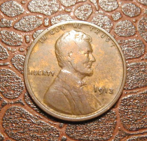 1913 P  Lincoln Wheat Cent