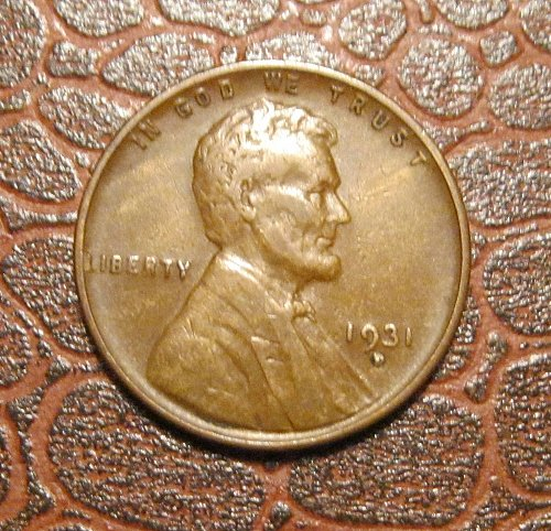1931 D  Lincoln Wheat Cent