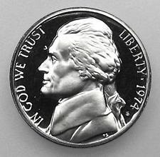 1974 S  PROOF  JEFFERSON NICKEL