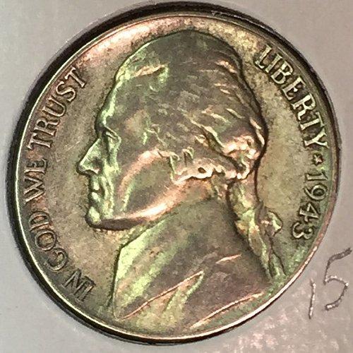 1943-P Jefferson Wartime Nickel (41629)
