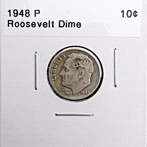 1948 P Roosevelt Dime