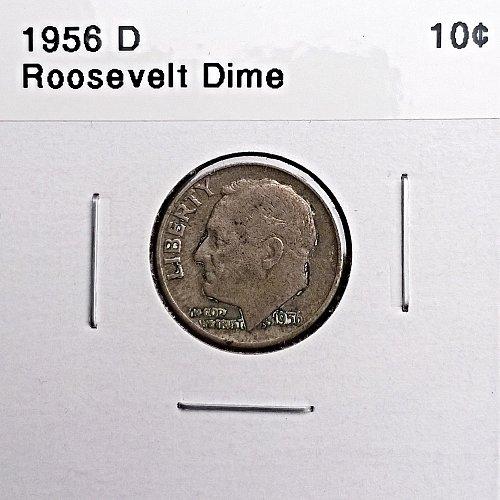 1956 D Roosevelt Dime