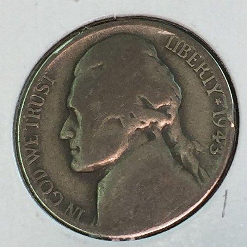 1943-D Jefferson Wartime Nickel (10475)