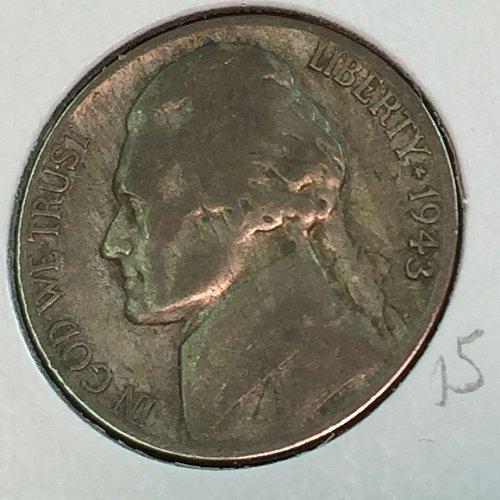 1943-D Jefferson Wartime Nickel (41637)