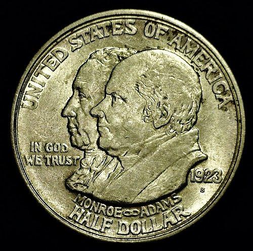 1923-S Monroe Doctrine Centennial Commemorative Half Dollar