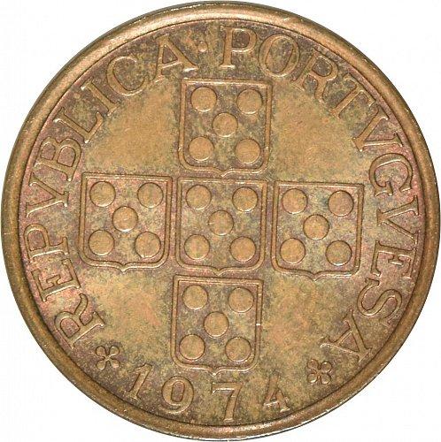 Portugal 50 Centavos, 1974 (Item 486)