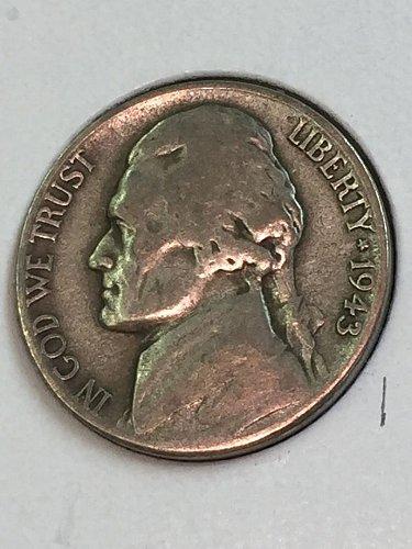1943-S Jefferson Wartime Nickel (41649)