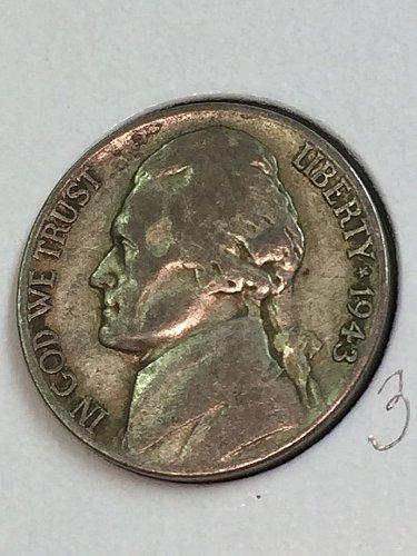 1943-S Jefferson Wartime Nickel (41660)