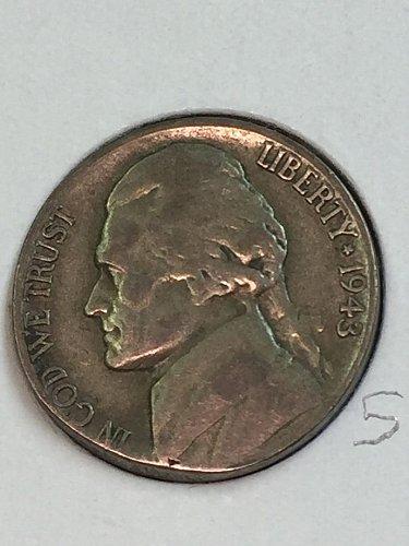 1943-S Jefferson Wartime Nickel (41668)