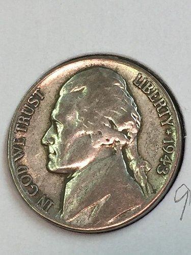 1943-S Jefferson Wartime Nickel (41672)