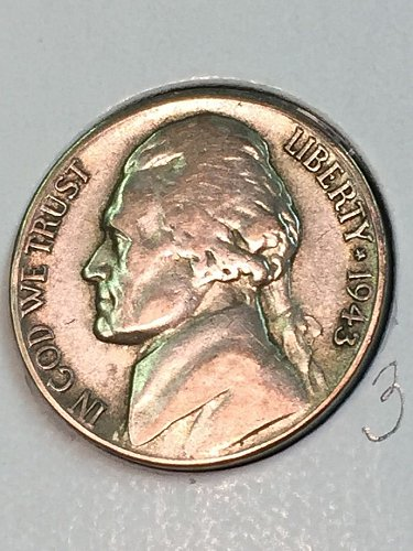 1943-S Jefferson Wartime Nickel (41676)